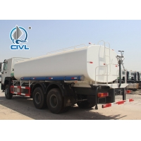 Quality ZZ5257M3247N Green / Red / White Sinotruck Howo Water Tanker Trailer 25000L for sale