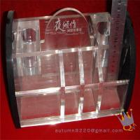 Quality clear acrylic makeup organizer for sale