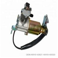Buy cheap Portable Rear Air Compressor For Air Ride Suspension 4891060021 4891060020 from wholesalers