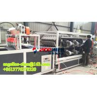 Quality plastic PVC+ASA two layer light weight colony roof tile/roofing sheet production line for sale