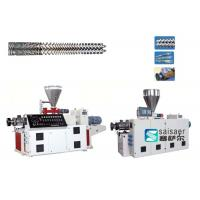Quality Industrial Plastic Sheet Extrusion Machine Conical Twin Screw Extruder Machine for sale