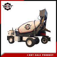 Buy cheap Concrete mixer machine 5.5 cubic meters self loading concrete mixer truck for from wholesalers