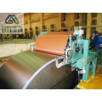 Quality Single Shiny  S - HTE   Red Copper Electrolytic Copper Foil For PCB ,Roll Size for sale