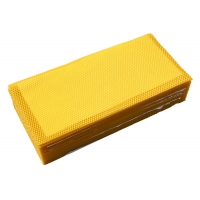 Quality Grade B Beekeeping 110g Beeswax Foundation Sheet for sale