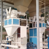 Buy cheap Screw Feeding 25kg Cassava Flour Animal Feed Bagging Machine With PLC Control from wholesalers