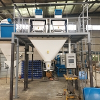 Quality Auger 25kg Animal Feed Additive Coconut Wheat Flour Filling Machine for sale