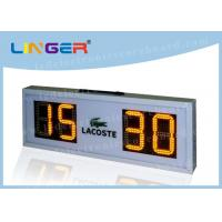 Buy cheap IP65 Portable Football Scoreboard , Mini Electronic Scoreboard Without Time from wholesalers