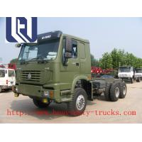 Quality 60 - 70 Ton Sinotruk Howo Tow Tractor Prime Mover Truck Rhd 10 Wheels 380HP Zz4257s3241w for sale