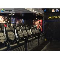 Quality Interactive Definition Viewing 5D Movie Theater For Business Center for sale