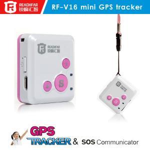 Quality RF-V16 Mini GPS Tracking Chip Sim Card Gsm Gps Gprs Tracker Mini Personal Gps Tracker for sale