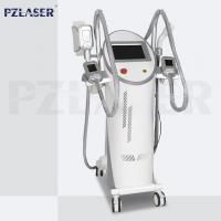 Buy cheap 4 Handpieces Lipolysis Fat Freezing Machine Vacuum Cavitation System High from wholesalers