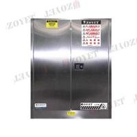 Buy cheap Stainless Steel Fireproof Flammable Safety Cabinets For Dangerous Goods from wholesalers