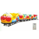Quality New children's track small train track small train amusement equipment playground square sightseeing small train facilit for sale