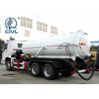 Quality SINOTRUK Howo 6x4 18CBM Vacuum Suction Sewer Cleaning Sewage Tanker Truck Sewage Suction Truck for sale