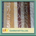 Quality Crocodile Grain PVC Artificial Leather / Fake Leather Fabric For Handbag / Car Upholestery for sale