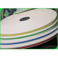 Buy cheap 60gsm 120gsm Recyclable Straw Paper Roll For Beverage Store 100% Safe from wholesalers