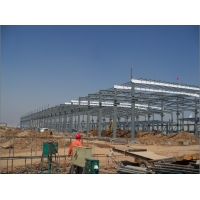 Quality Prefabricated Steel Frame Structure Construction Commodity Storage Warehouse for sale