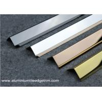 Quality 35mm x 35mm Stainless Steel Corner Guards For Five Star Hotel Easy Installation for sale