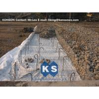 China Double Twisting Gabion Basket Galvanized Galfan Wire Grid Reinforced Structure on sale