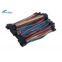 Buy cheap PVC Jacket Ribbon Cable Assemblies , Dupont Connector Cable Assembly from wholesalers