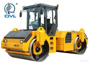 Quality 30tons Road Roller Road Maintenance Equipment  Yellow Color Vibratory Roller for sale