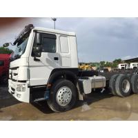 Quality Sinotruk HOWO 6X4 371HP Prime Mover Truck / Heavy Duty Tractor Loading 50t for sale
