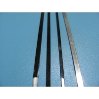 Quality Stainless Steel 3.0mm Flat Coated Wire Polyester Black Coated for sale