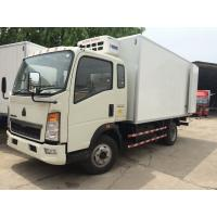 Quality CCC Light Duty Commercial Trucks Refrigerator Freezer Van Box Truck For Meat for sale