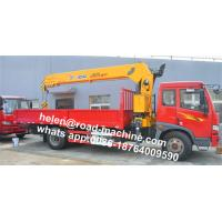 Quality Xcmg 3.5t Mini 7.6m Span Truck-Mounted Crane With Telescopic Boom SQ3.2SK1Q for sale