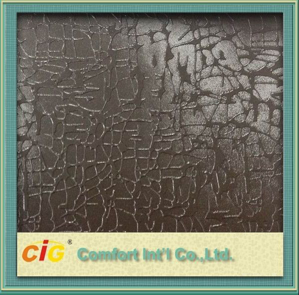 Buy Dirty Resistance 1.0mm PVC Artificial Leather / Faux Leather Upholstery Fabric for Car Seat at wholesale prices