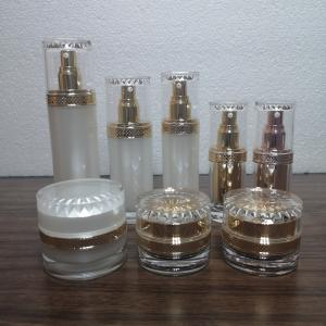 Quality Lotion Pump 80ml 120ml Empty Cosmetic Acrylic Container for sale