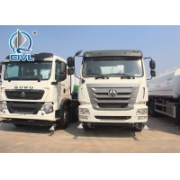 Quality 6x4 SINOTRUK HOWO 12m3 Water Tank Truck With Foam Tank ZZ1257N4347C new truck with good price for sale