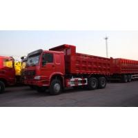 Quality 30T SINO Heavy Duty ZZ3317N3867B 6x4 Red Color Full Fender Dump Truck for Transport for sale