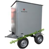 Quality mobile trailer mounted vacuum transformer oil purifier,insulation oil filtration ,dielectric oil purification system for sale