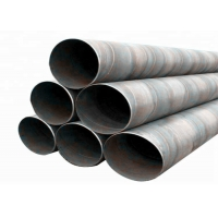 Quality API 5L X42 Slotted Casing Spiral Welded Steel Pipe For Paper Industry for sale