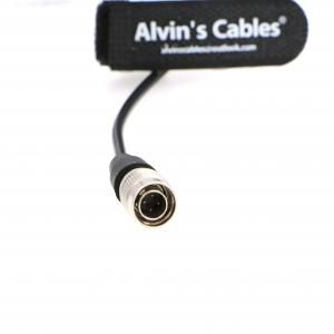 Quality 4 Pin Male Hirose To Boost 12V USB Power Cable For Sound Devices 688 633 / Zoom F4 F8 / Zaxcom for sale