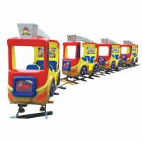 Quality high quality amusement track train children indoor track train playground for sale for sale