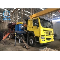 Quality Diesel SQ5SK3Q Truck Mounted Crane , 5 TON Telescoping Boom Crane for sale