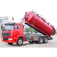 Quality 12M3 Sewage Suction Truck 6X4, 10 wheel garabe collection truck,toilet rubish sucktion , sewage collector for sale