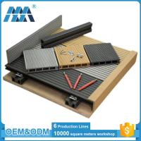 Quality factory waterproof balcony flooring wood plastic composite decking tiles for sale