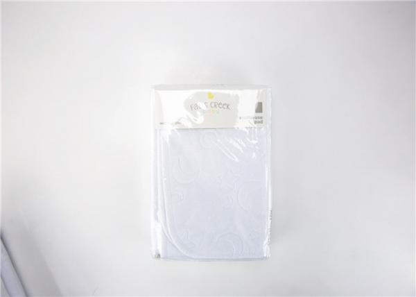 Buy Non Woven Baby Diaper Changing Mat , White Non Toxic Diaper Changing Cushion at wholesale prices