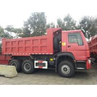 Quality Dump Tipper Truck Special Dump Truck25 ton 8 x 4 Unloading Heavy Duty Trucks , EURO II 371 Horsepower for sale