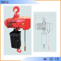 Quality Hook Suspension Electric Chain Hoist With 360 Degree Rotatable for sale