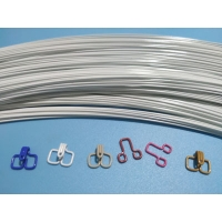 Quality Non Magnetic 0.015mm Hook And Eye Wire 750Nmm2 for sale