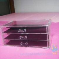 Quality acrylic cosmetic organizer for sale
