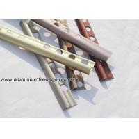 Quality Aluminium Alloy Satin Matt Anodized Ceramic Tile Corner Trim For Wall Tile Edge for sale