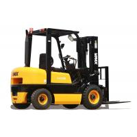 Quality High Rack Warehouse Diesel Powered Forklift Automatic Lift Truck 4T Capacity for sale