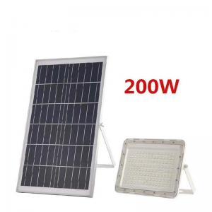 Quality Die-Casting Aluminum Heavy Duty Solar Powered Slim IP65 Waterproof Outdoor Floodlight 30W 60W 100W LED Solar Flood Light for sale