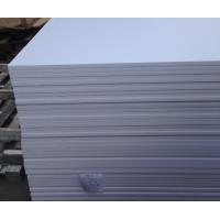 Quality Anti Aging UV Resistant PVC Sheet , Construction Wall Cladding PVC Sheet for sale