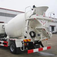 Quality Durable portable diesel concrete mixer pump truck for convenient use for sale